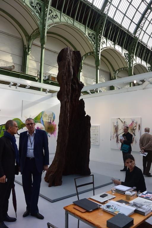 Ai Weiwei bronze tree at Max Hetzler (Berlin & Paris)