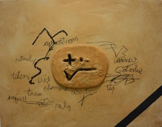 Antoni Tàpies at Galerie Lelong