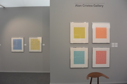 Anni Albers at Alan Cristea