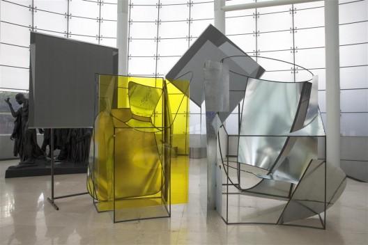 """刘韡,《全景》,混合媒介,尺寸可变,2016 / Liu Wei, """"Panorama"""", mixed media, dimensions variable, 2016."""