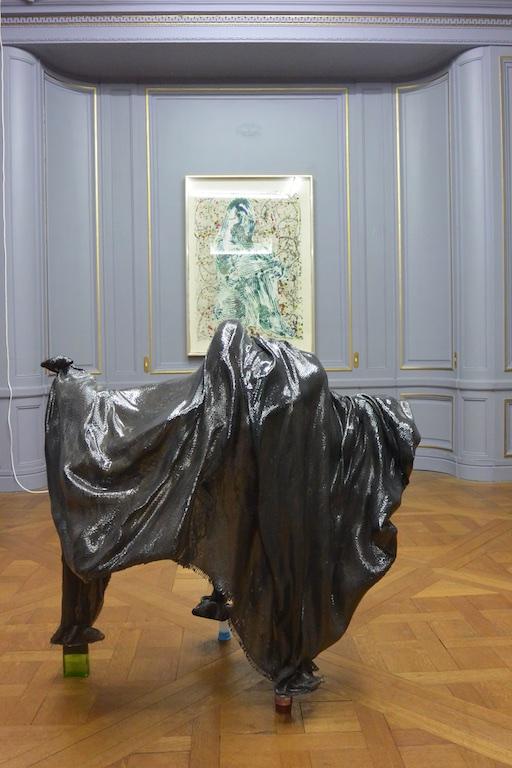 Scary creature by Lena Henke at Paris gallery, High Art, Paris Internationale