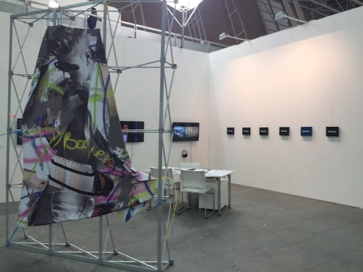Installation shot MadeIn Gallery at Artissima 2016, courtesy MadeIn Gallery, Shanghai