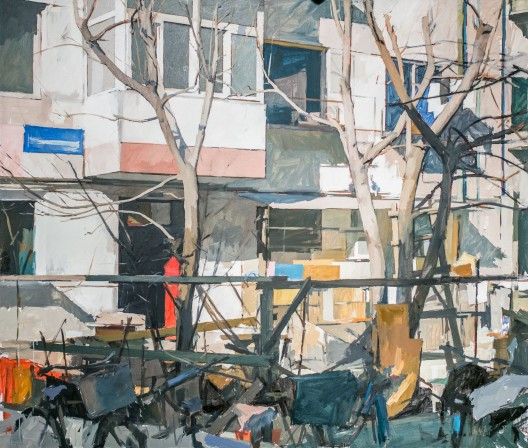 《迷阳》,布面油画,200x170cm,2016