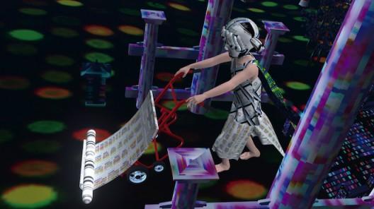 Wu Tzu-Ning, Cyber Samsara, Interactive APP, 3D Animation, 2016.吳梓寧,《網路後世》,互動程式、3D動畫投影,2016