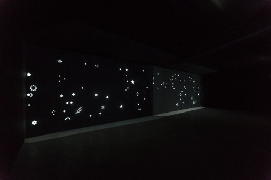 梁半,《繁星》,三频录像,2012 / Liang Ban, Stars, tri channel video, 2012