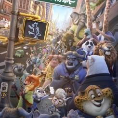 《疯狂动物城》(图片来自网络)
