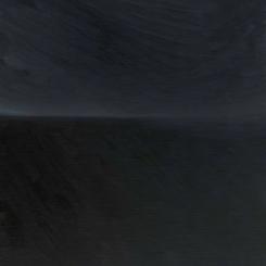 贾蔼力《五大连池》2016,布面油画,46 × 38 cm 图片由艺术家、MDC画廊提供