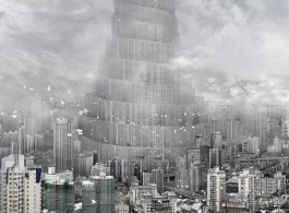 Du Zhenjun b.1961, The Tower of Babel - Wind, 2010, C-print, 160 x 120 cm, Edition 3_6