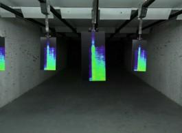 "劳伦斯·阿布·汉丹,《橡皮涂层钢》,高画质录像,彩色、有声,片长19分,2016 Lawrence ABU HAMDAN, ""Rubber Coated Steel"", HD video, color, sound,19 min, 2016"