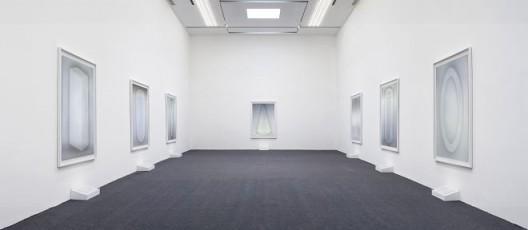 """刘月,""""格言"""",香格纳北京,展览现场 Liu Yue,"""