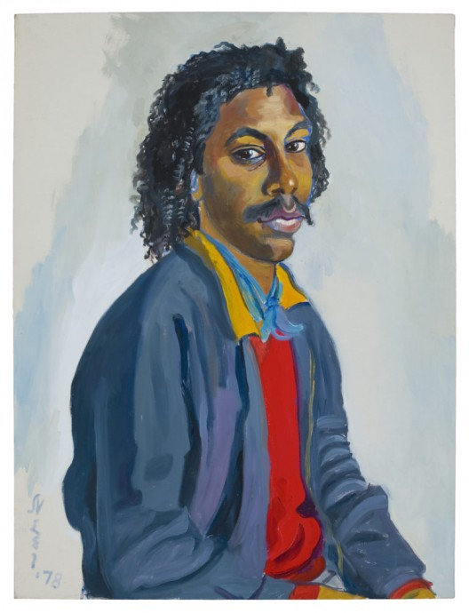 Stephen Shepard, 1978, Oil on canvas, 32 x 24 inches (81.3 x 61 cm), © The Estate of Alice Neel. Courtesy David Zwirner, New York/London