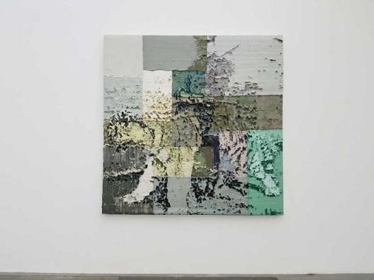 李松松,《骑虎》,布面油画,210×210 cm,2016 Li Songsong, Riding the Tiger, oil on canvas, 210×210 cm, 2016