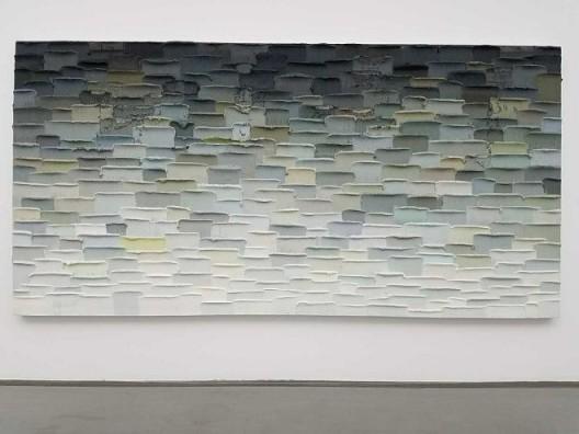 李松松,《北海(二)》,布面油画,240×480 cm,2016 Li Songsong, Beihai (Ⅱ), oil on canvas, 240×480 cm, 2016