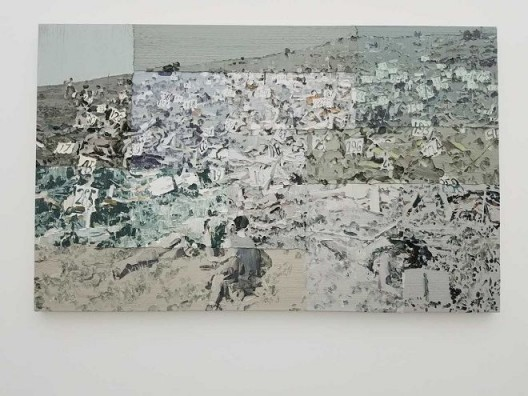 李松松,《唯心史观》,布面油画,180×290 cm,2014 Li Songsong, Historical Idealism, oil on canvas, 180×290 cm, 2014