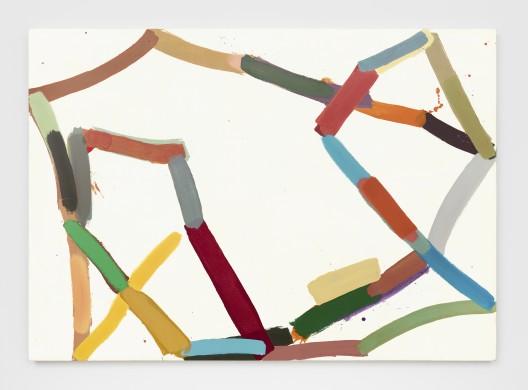 勒的绘画作品以抽象构图和反差的 在巧妙表现简化与克制的同时,