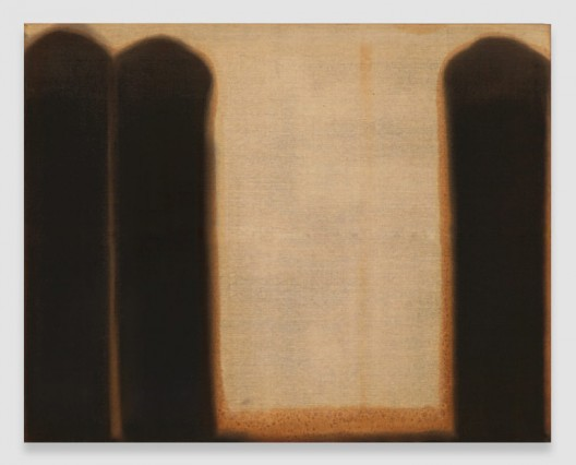 Burnt Umber & Ultramarine, 1976, Oil on linen, 71 3/4 x 90 1/2 inches (182.2 x 229.9 cm), © Yun Seong-ryeol. Courtesy PKM Gallery, Seoul and David Zwirner, New York/London
