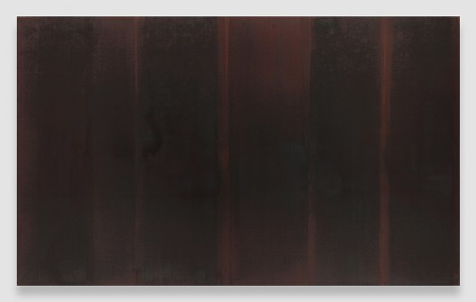 Burnt Umber, 1989, Oil on linen, 80 5/8 x 131 3/8 inches (204.8 x 333.7 cm), © Yun Seong-ryeol. Courtesy PKM Gallery, Seoul and David Zwirner, New York/London