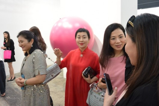 Wang Xin at DeSarthe Gallery
