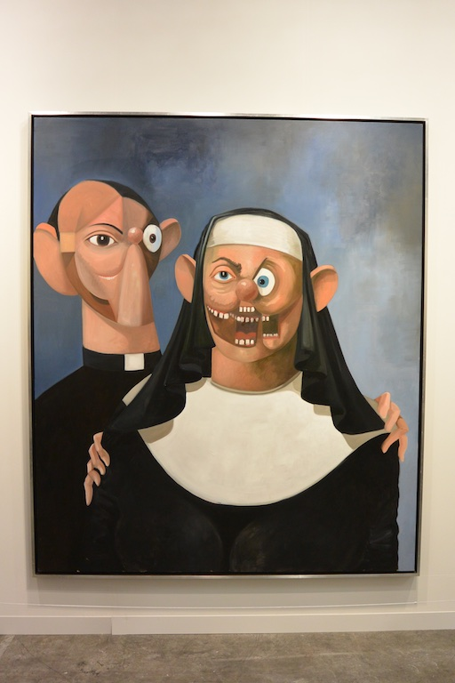 George Condo at Skarstedt (London & New York) (Ran Dian images)