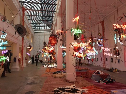 "Jason Rhoades, ""Tijuanatanjierchandelier"", 2006"