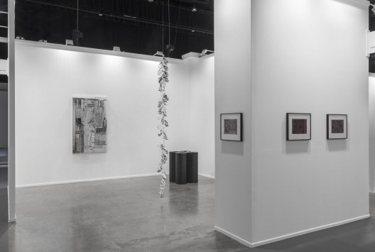 carlier | gebauer, Hall 1, booth B9, installation view at Art Dubai 2017. Photo- Sebastiano Pellion di Persano