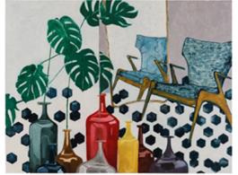 Potted Venini, 2017, 油畫麻布本, 130 x 170 cm