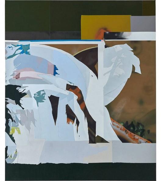 韩冰,《BROOME Ⅲ》,亚麻布面丙烯,2016 HAN Bing, BROOME Ⅲ, Acrylic on Linen, 201×172cm