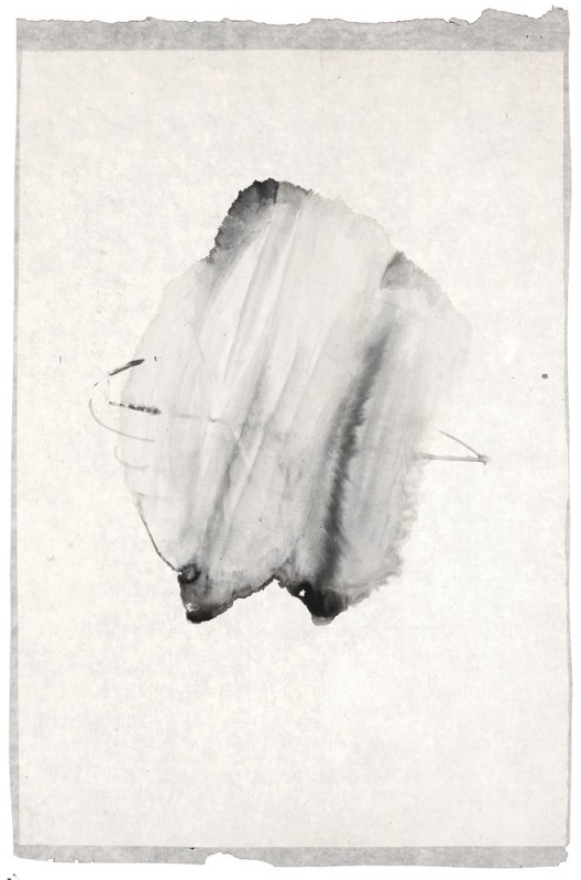 插图15 《墨迹系列006》(一九九六年作,图版二九)