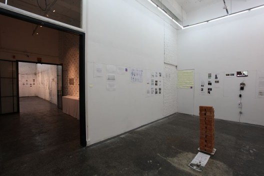 """""""要空间方案展——局部档案""""展览现场"""