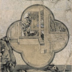 "郑力,《晴雪》,水墨 设色 纸本,233 x 135 cm,2002(图片由艺术家及汉雅轩提供) ZHENG Li, ""Pure as Snow"", Ink and Colour on Paper, 233 x 135 cm, 2002 (Image Courtesy of the Artist and Hanart TZ Gallery)"