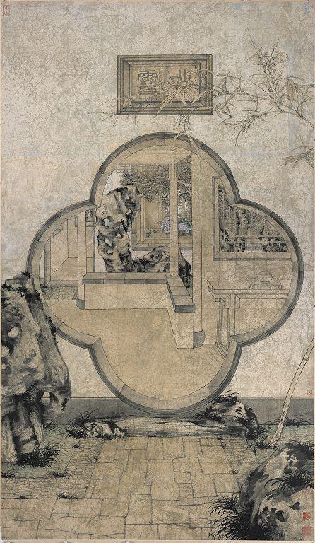 郑力,《晴雪》,水墨 设色 纸本,233 x 135 cm,2002(图片由艺术家及汉雅轩提供) ZHENG Li,