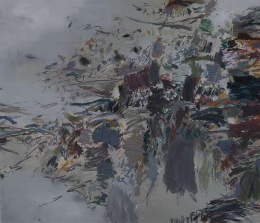 Huang Yuanqing, Untitled, Acrylic on Canvas, 110 x 130 cm, 2014–2017 黄渊青,《无题》,布面丙烯,110 x 130 cm,2014–2017
