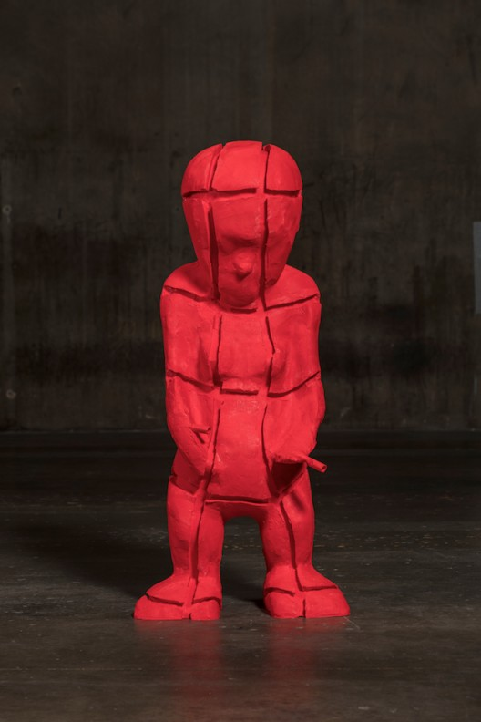 Paul McCarthy, 'Picabia Idol Core' 2015-2017, Silicone 156.8 x 50.8 x 69.9 cm (Photography© 2017 Fredrik Nilsen, All Rights Reserved, Courtesy of the artist, Hauser & Wirth and Kukje Gallery Image provided by Kukje Gallery)