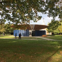 2017 Serpentine pavillion designed by Francis Kéré
