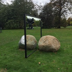 Alicja Kwade at frieze Sculpture