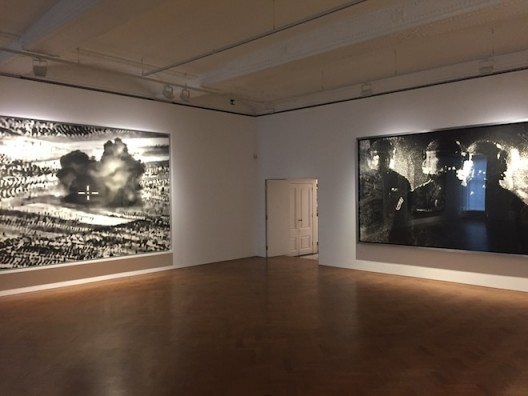 Robert Longo at Galerie Thaddaeus Ropac, Ely House, London