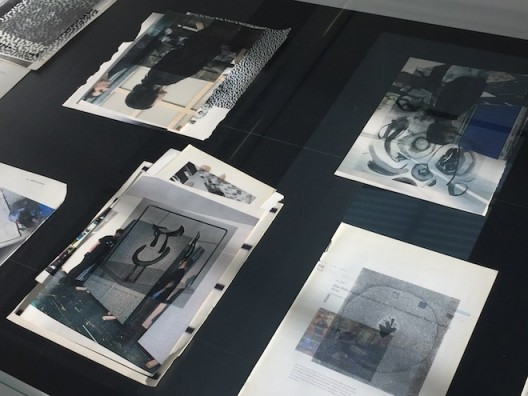 Wade Guyton at Serpentine Galleries – studies in vitrines