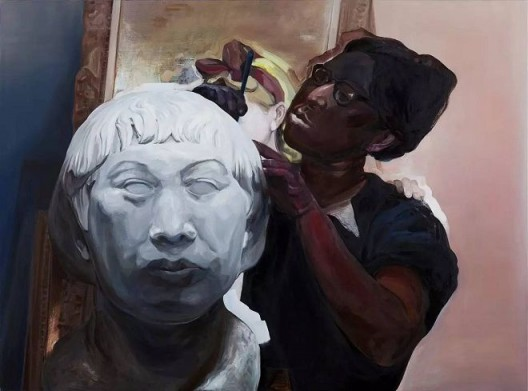 王之博,《作为一个画家,颜色总是问题》