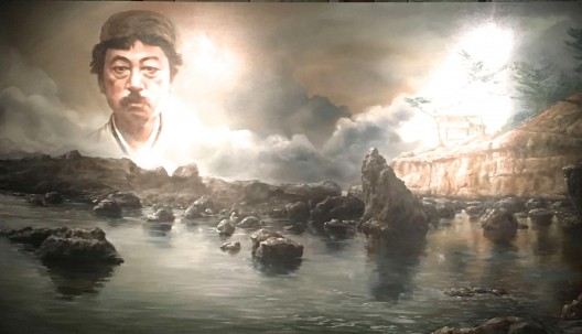 "Ozawa Tsuyoshi, ""The Return of K.T.O., oil on canvas,150 x250 cm, 2017"