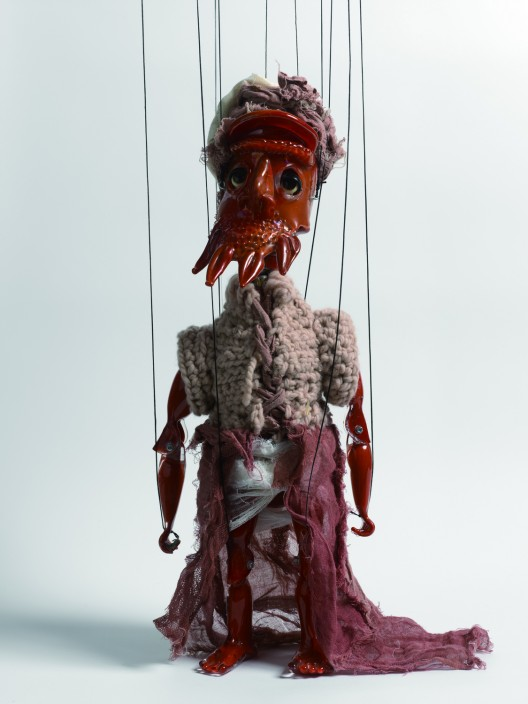 "Wael Shawky, ""Cabaret Crusades: The Secrets of Karbalaa (Marionette)"", 2015 © Wael Shawky; courtesy Lisson Gallery"