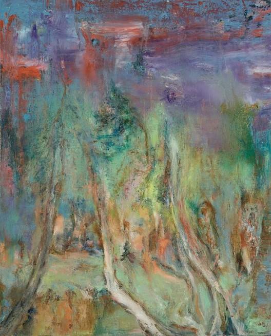 《江南系列四》,布面油画,40x50cm