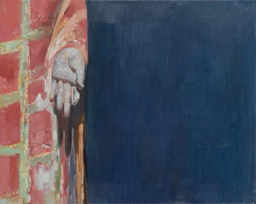 《禅系列二》,布面油画,40x50cm