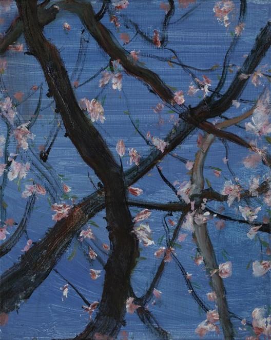 《花系列之二》,布面油画,40X50cm