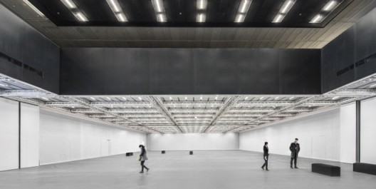 INTERIOR VIEW OF EXHIBITION SPACE Photo by Alex Fradkin