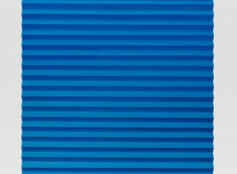 Mark Hagen - Colour therapy ll, 2017 - Cast acrylic paint, molding paste, fiberglass reinforced plastic, aluminum armature - 210,8 x 121,9 x 7,6 cm / 83 x 48 x 3 inches / © Mark Hagen - Courtesy of the Artist and Almine Rech Gallery - Photo: Joshua White