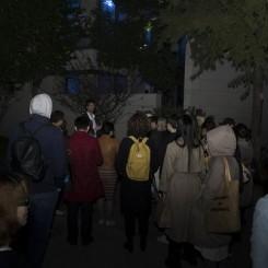 "Performance view, Stefan and Sergei Tcherepnin, ""Ten Tones: Inside and Outside the Major-Minor,"" 2017, Ming Contemporary Art Museum, Shanghai. PHOTO: Tang Chao  表演现场,斯蒂芬·齐尓品和谢尔盖·齐尓品,""十音:在大调小调的内外"",2017,明当代美术馆。摄影:Tang Chao"