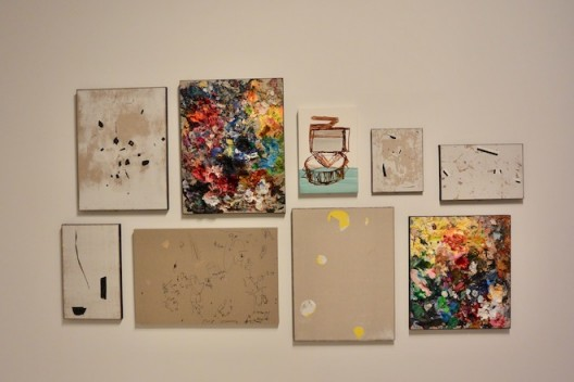 Hernández CAC Malaga–installation view of small works (image courtesy the artist. Photo. Chris Moore)