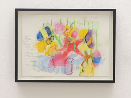 José María Sicilia, dijimos, 2017, papier coton, aquarelle et crayon graphite / Cotton paper, watercolour and graphite 51 x 36 cm / 20 1/8 x 14 1/8 inches, 43 x 58 cm / 16 7/8 x 22 7/8 inches (framed/encadré) Courtesy de l'artiste et de la / of the artist and Galerie Chantal Crousel, Paris Photo : Florian Kleinefenn