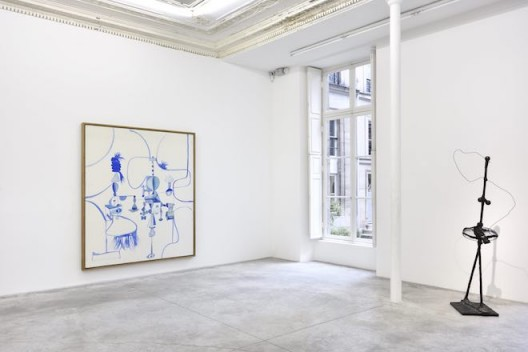 George Condo – installation view. Image courtesy the artist and Almine Rech Gallery