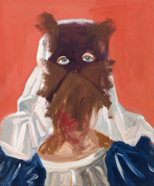 "George Condo, ""Cat Faced Nun"", acrylic and oil on canvas, 183 x 152 cm, 2010, © Sprüth Magers"